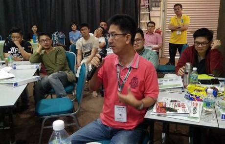第一节马来西亚创业课程 2016 Sept 16-18